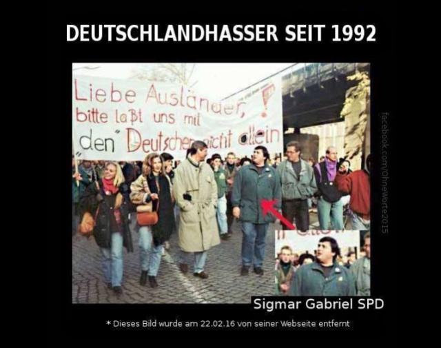 Deutschlandhasser Gabriel