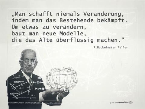 Bildergebnis für Buckminster Fuller Zitate