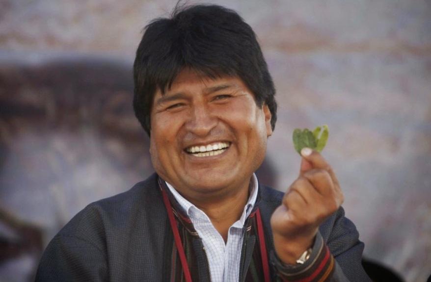 Bildergebnis für Bilder Evo Morales