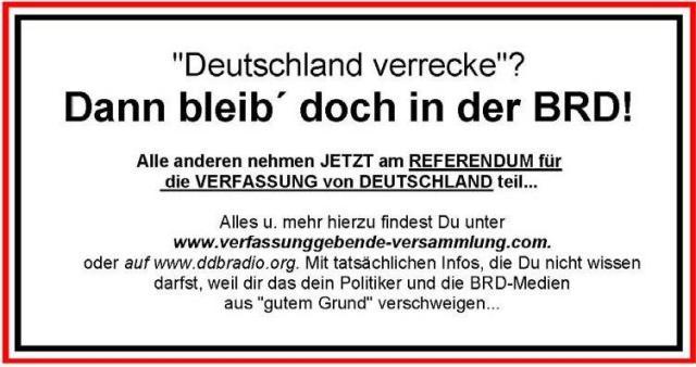 Deutschland verrecke