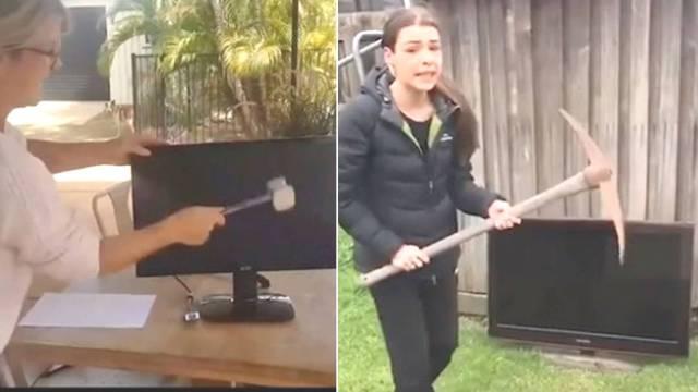 TV zerstören